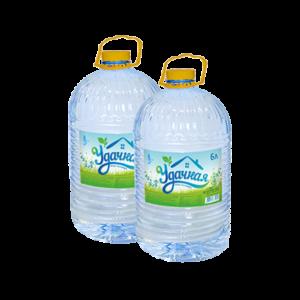 """Упаковка воды """"Удачная"""" 2 шт по 0,6л"""