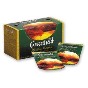 Гринфилд Голден Цейлон — 25 пакетиков